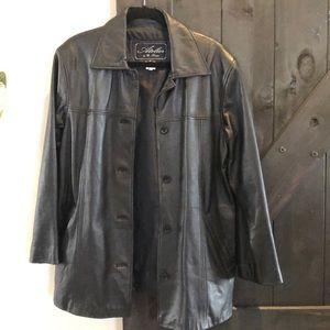 Atelier by B. Thomas Leather Jacket with gloves